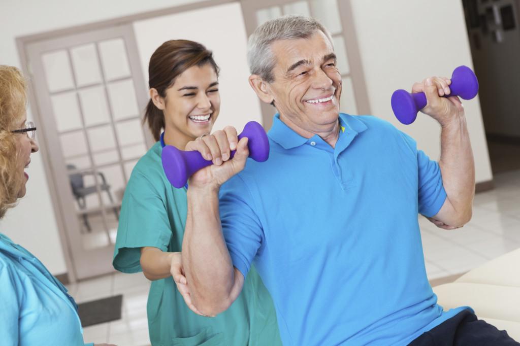 Rehabilitation & Therapy at SilverSpring Health & Rehabilitation Center nursing home in Abilene, TX.